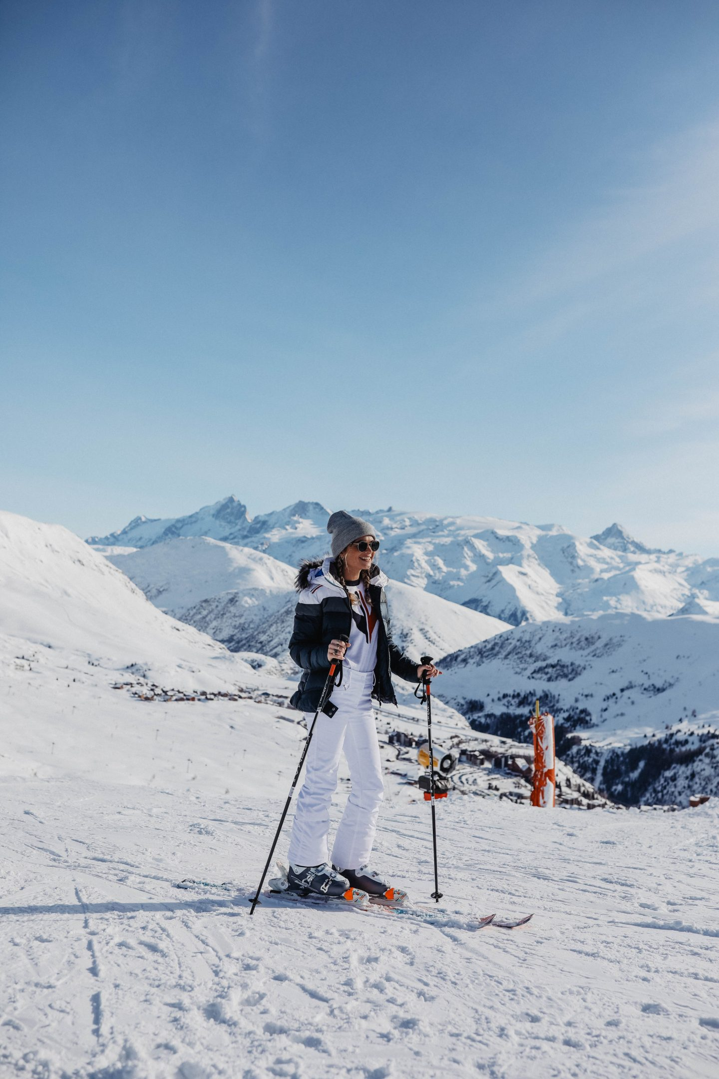 Total look Rossignol pour le ski marie and mood blog