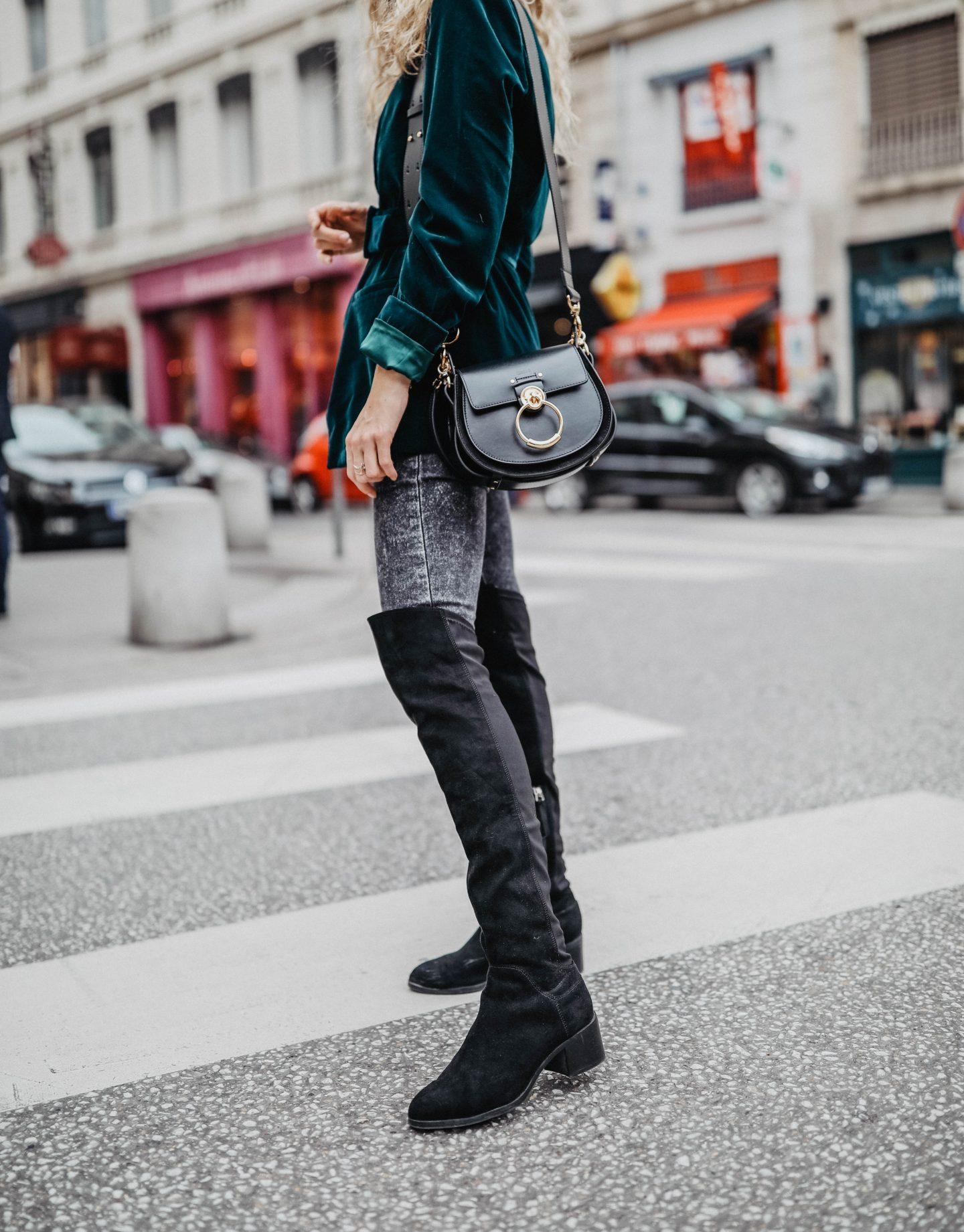 Tess de Chloé couleur noire marie and mood  blog mode