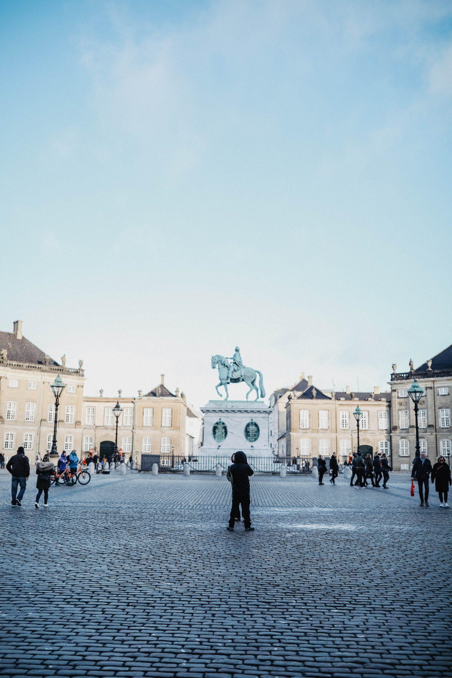 Palais d'Amalienborg Copenhague marie and mood