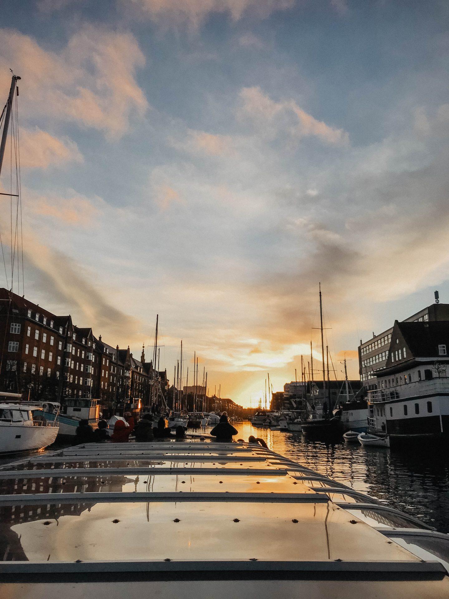 Coucher de soleil Copenhague marie and mood blog