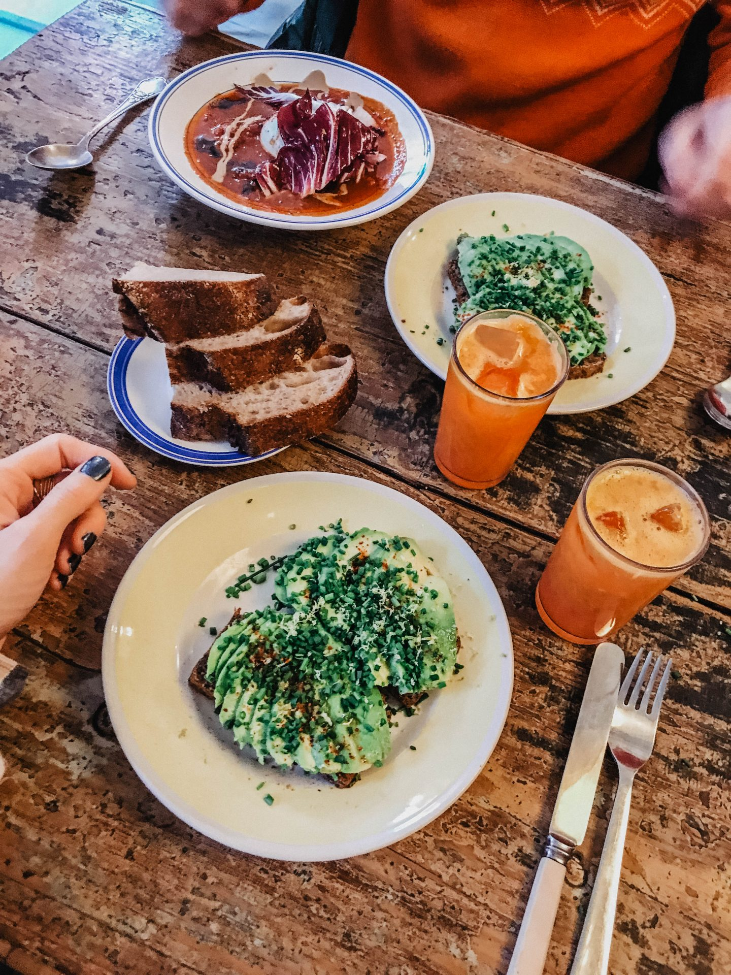 Avocado toast Copenhague marie and mood blog