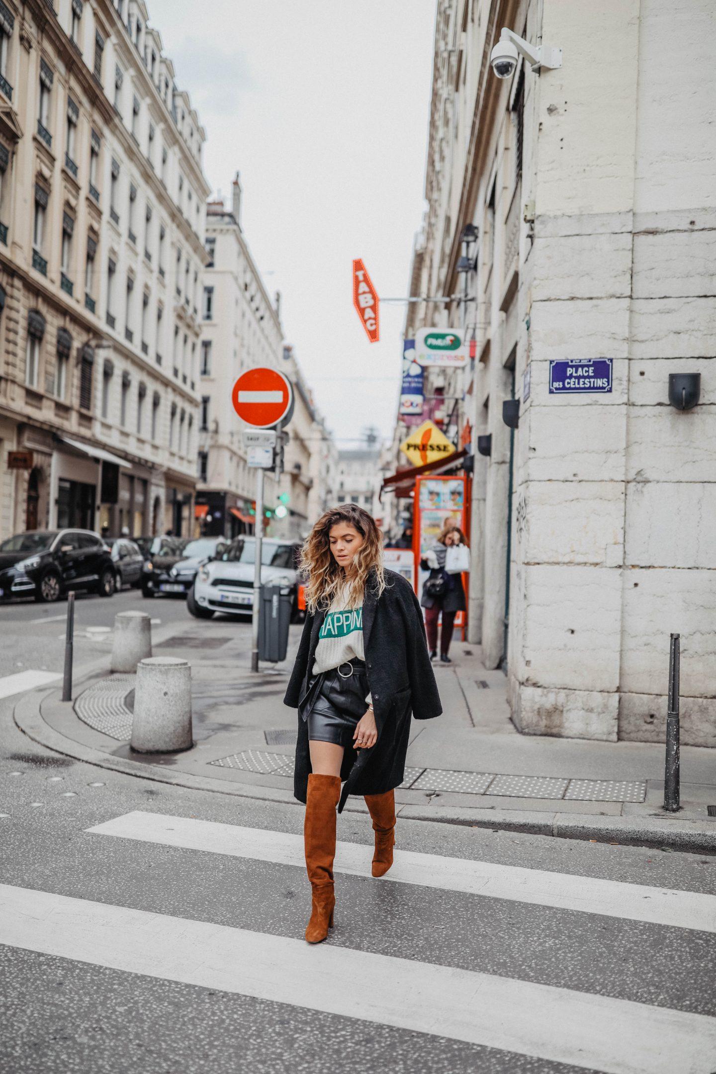 Idée de tenue pour l'hiver blog mode marie and mood