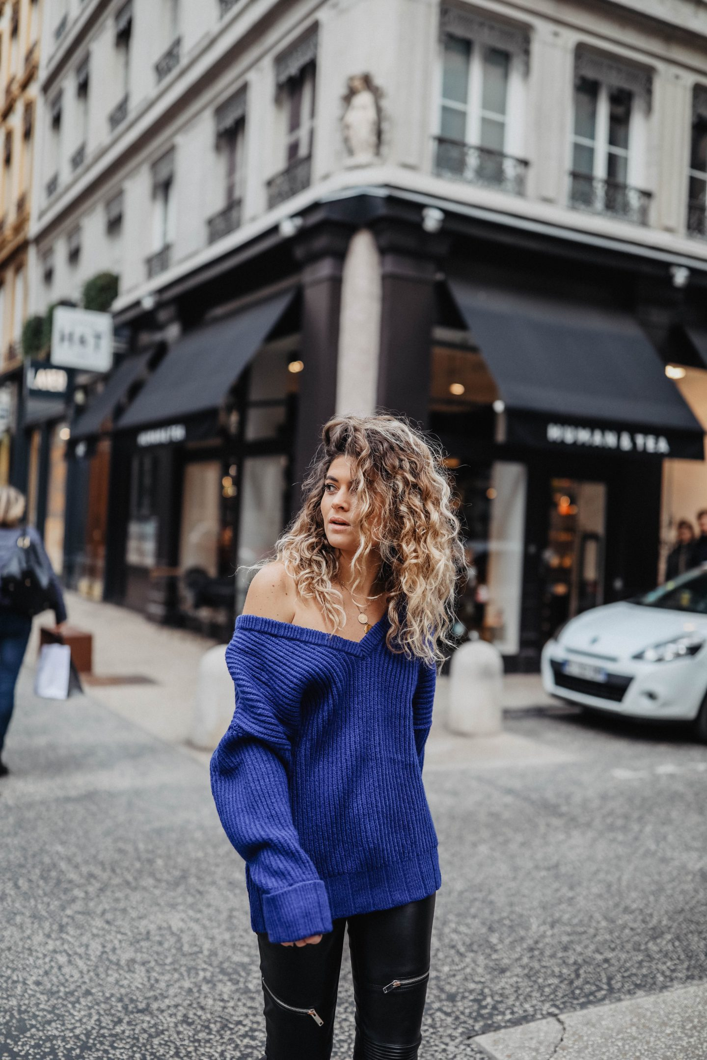 Cheveux ondulés marie and mood blog