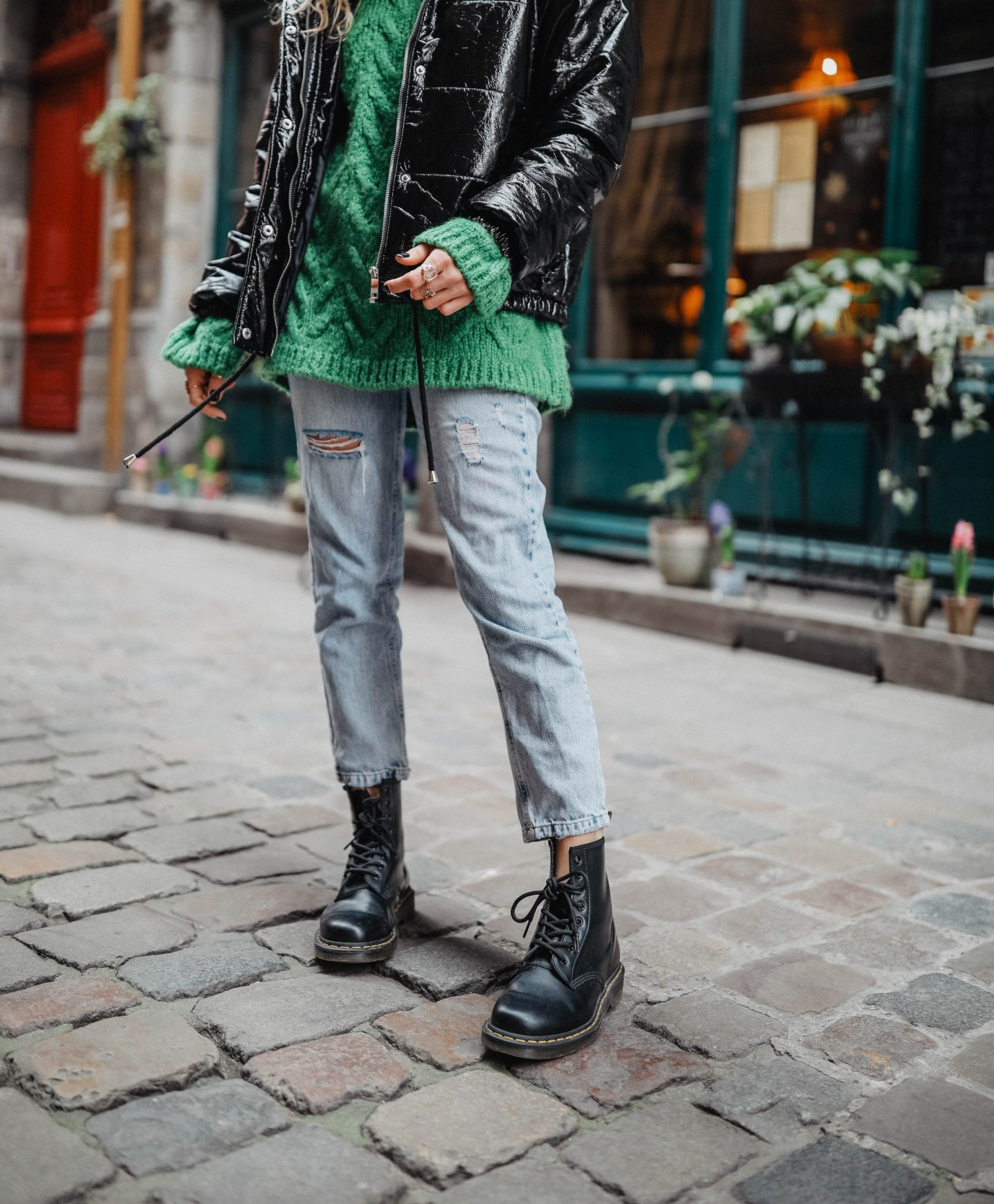 Dr Martens tendance chaussures marie and mood blog