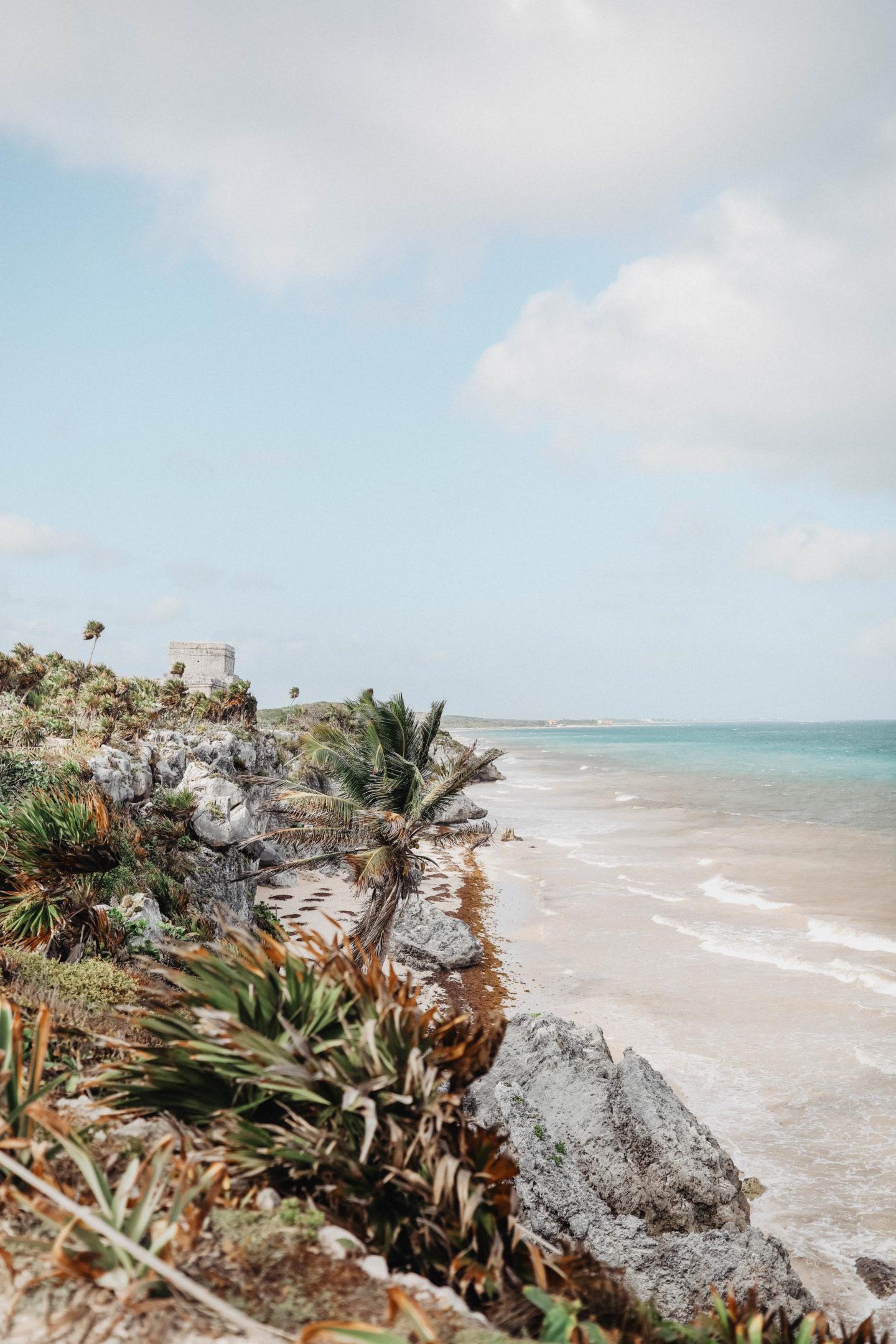 ruines Tulum voyage au mexique marieandmood