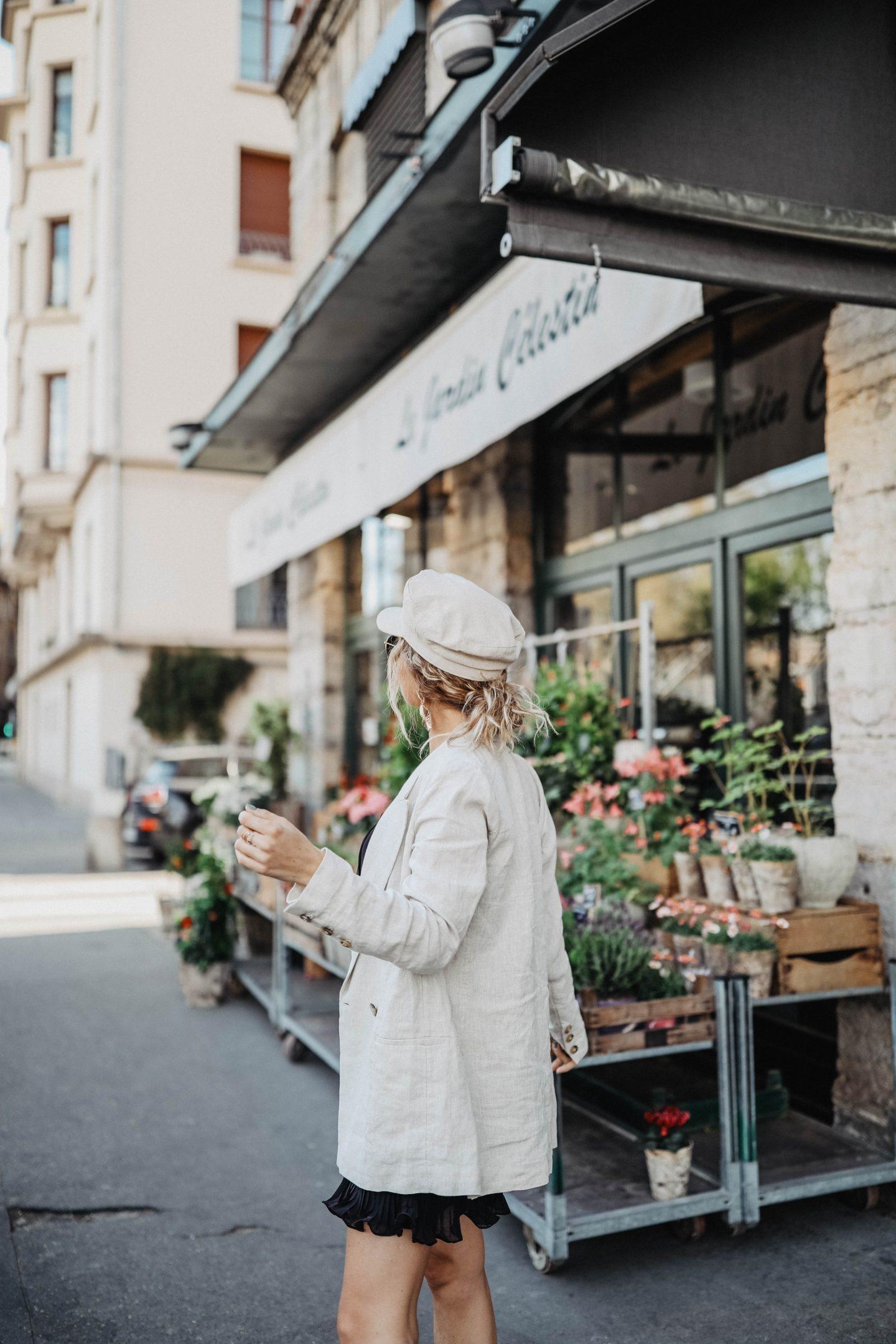 Casquette en lin Zara marieandmood blog