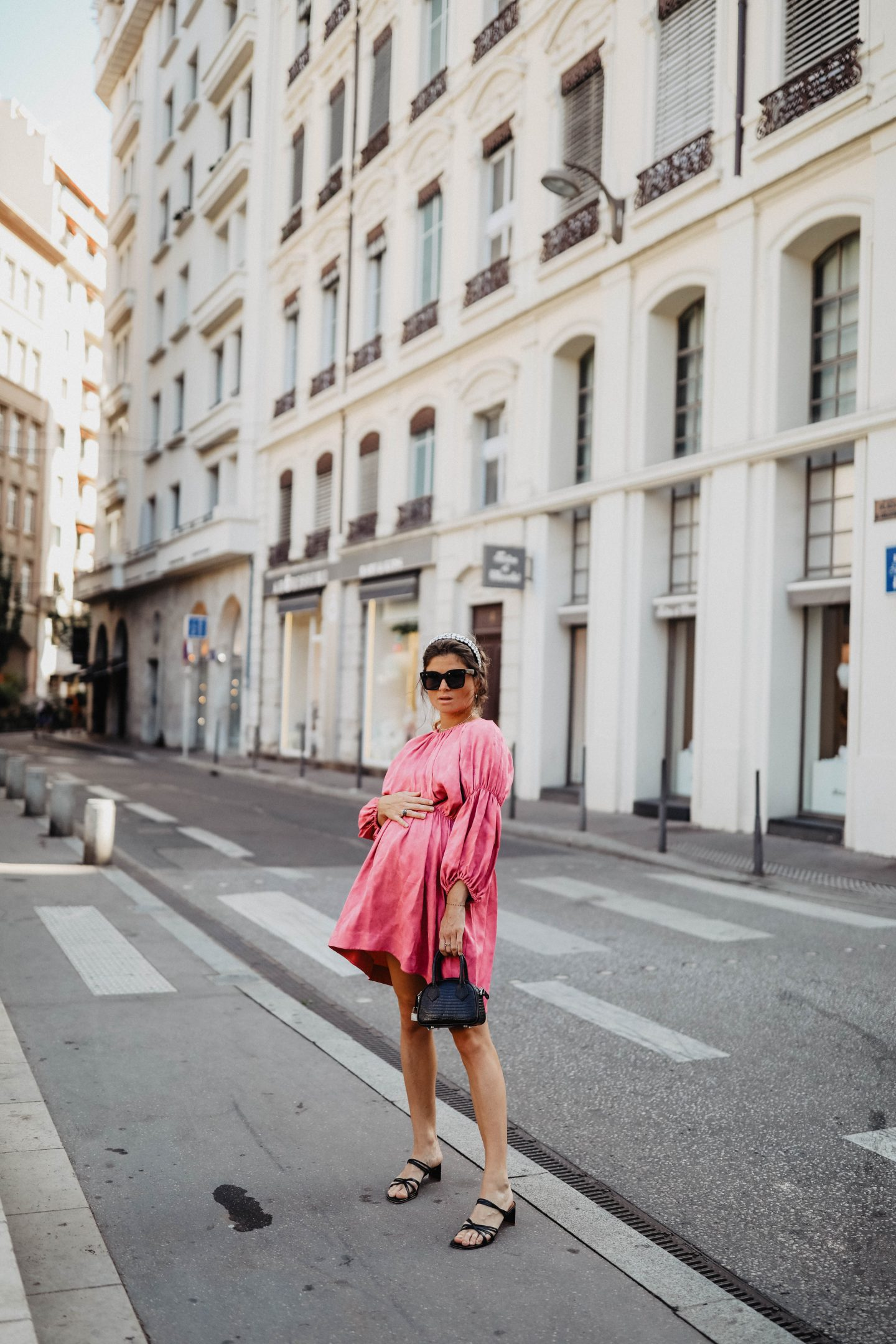 Robe fushia &OtherStories marieandmood blog