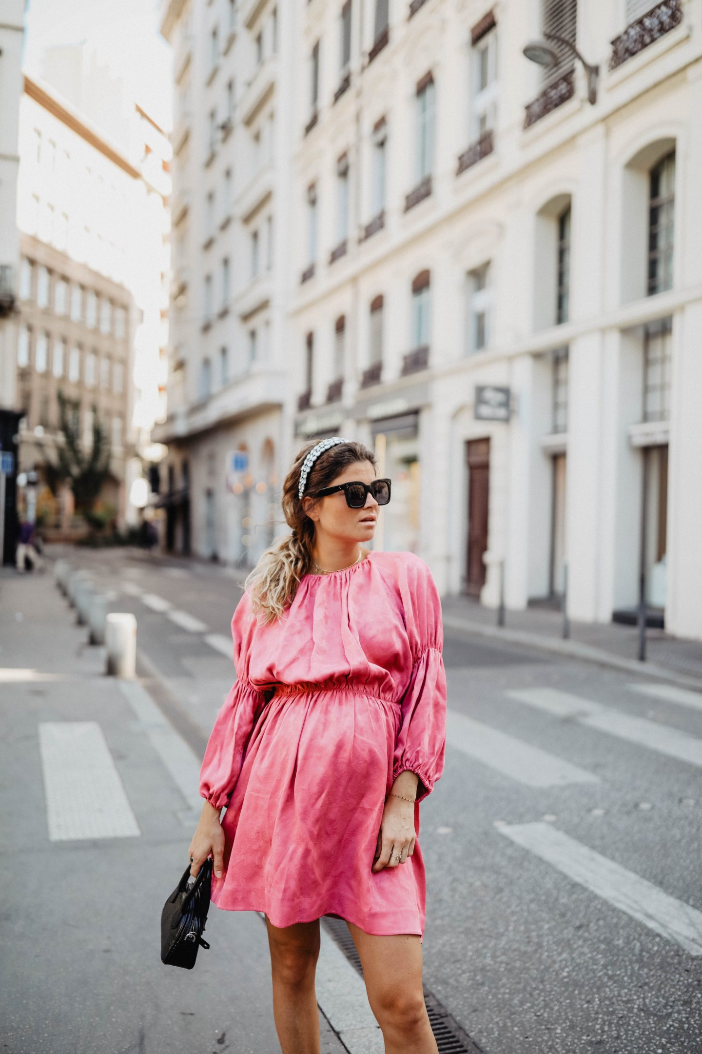 Robe fushia marieandmood blog mode