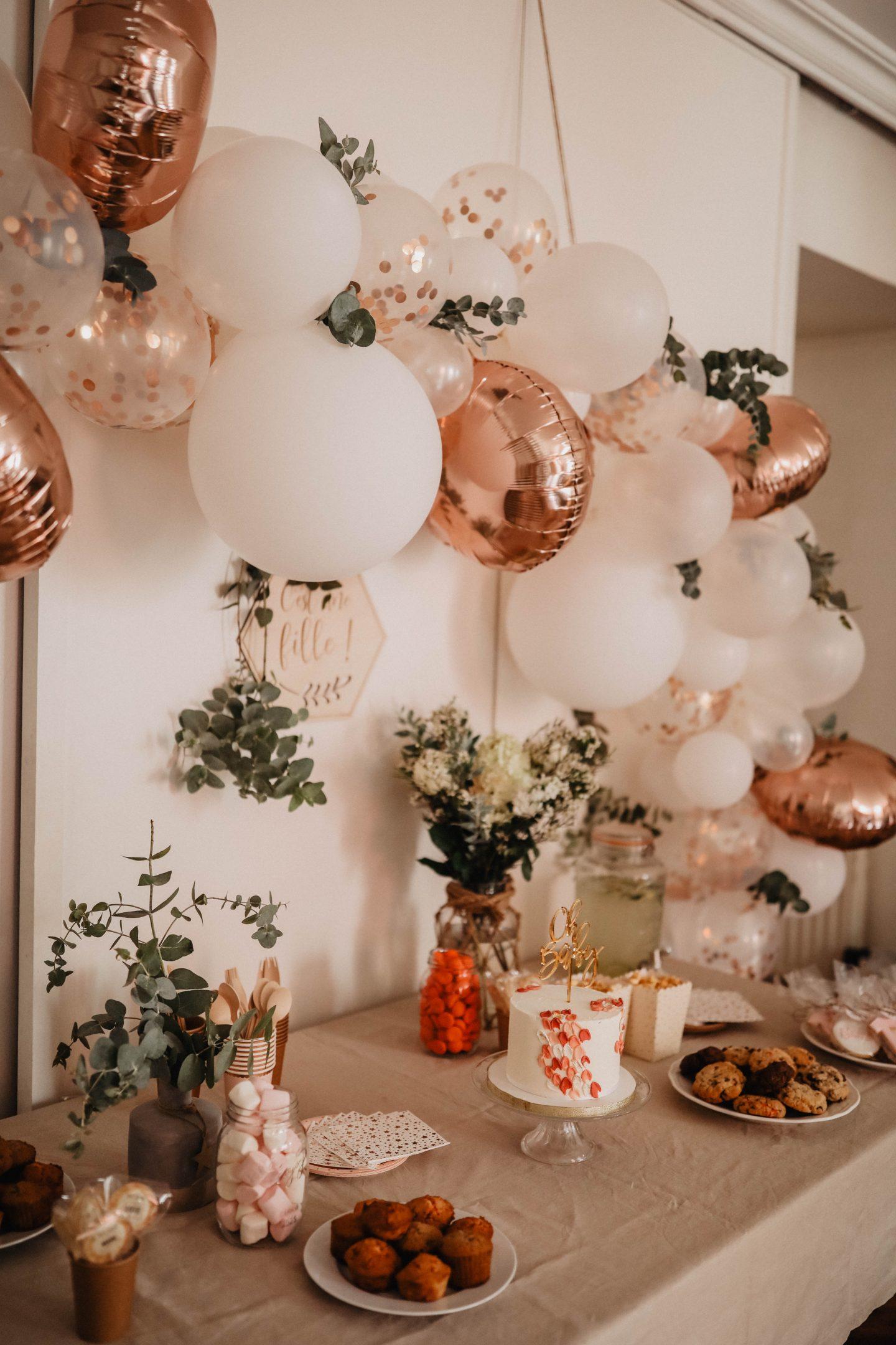 Décoration arche de ballons marie and mood