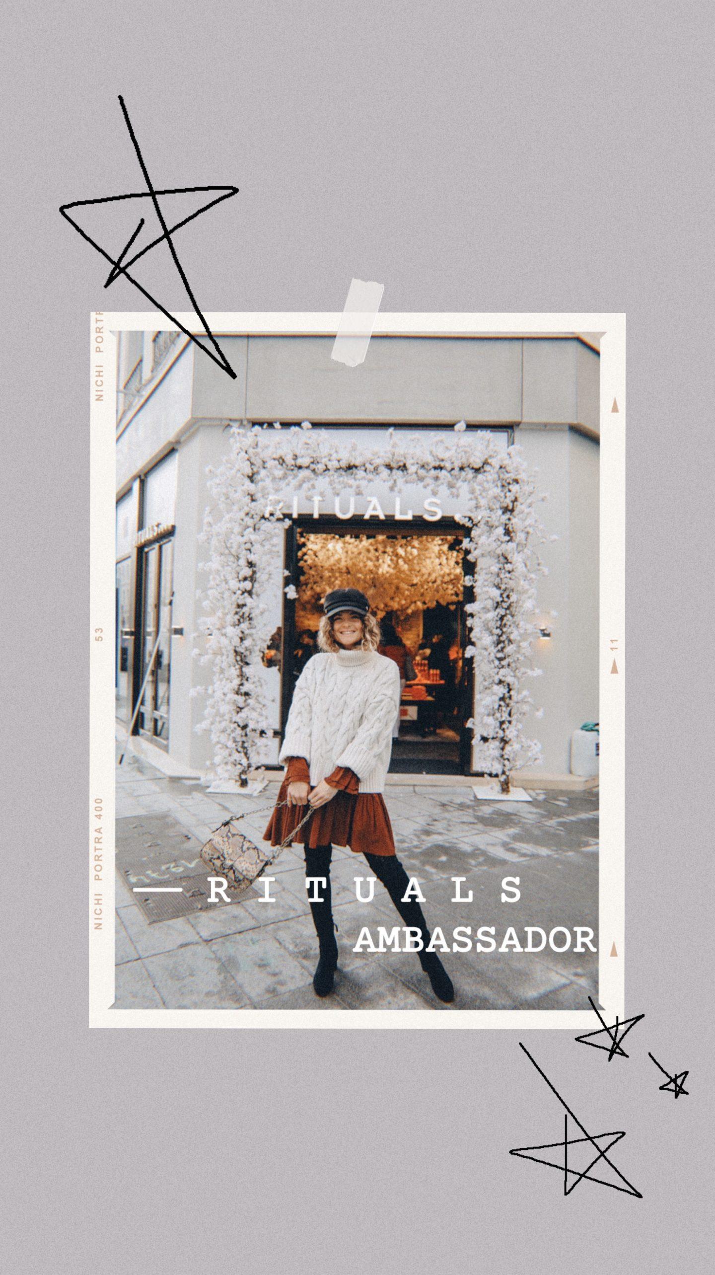 Marieandmood ambassadrice Rituals Lyon